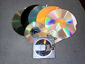 CDs in Many Colors